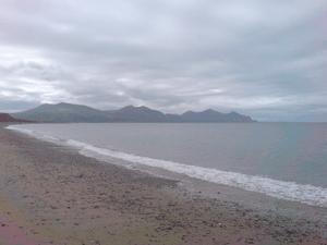 English: Coast of Dinas Dinlle in Gwynedd, Wales