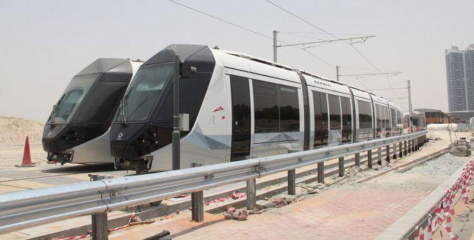 Dubai Alstom Citadis 402