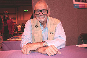 English: George A. Romero. I took this picture...