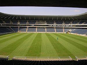Orlando Stadium in Soweto, South Africa.