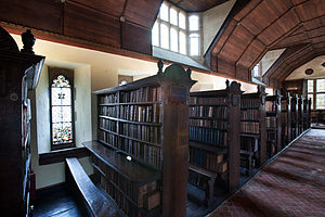 English: Library at Merton College, Oxford, UK