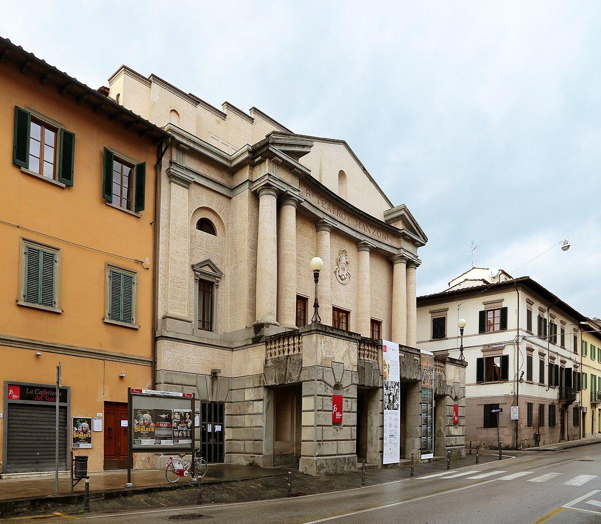 Teatro Manzoni Pistoia  Wikipedia