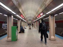 Chicago CTA Red Line Station
