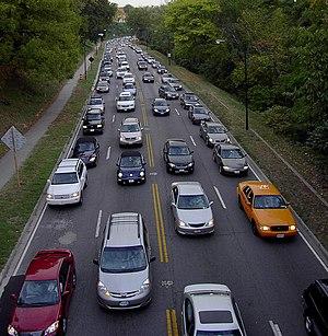 English: Rush hour traffic in Washington, D.C.