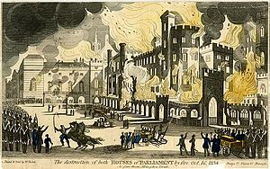 Burning Of Parliament Wikipedia