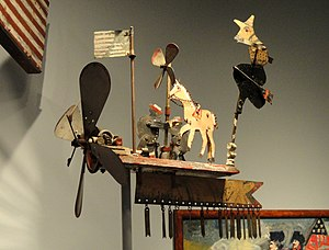 Whirligig with Witch and Horse, 1918, by Charl...