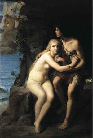 """""""Acis et Galatée se cachant de Polyphème&..."""