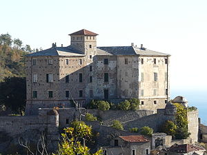 Castello di Balestrino, Liguria, Italia