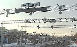 The control point at Liljeholmen, Stockholm.