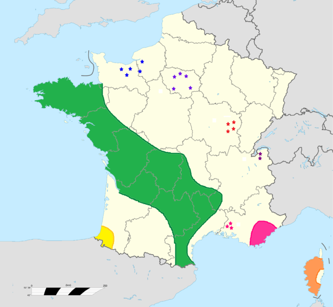 Dolmen in Frankreich