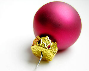 Christmas bauble (called a Christmas ball in A...