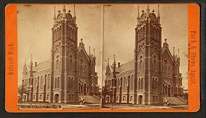 A Congregational church in Detroit, Michigan (...