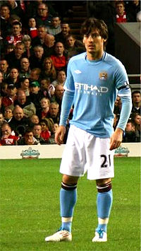 David Silva With Manchester City In April