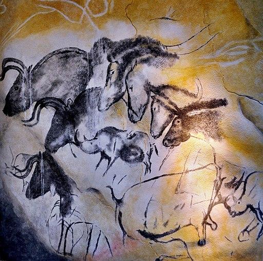 Etologic horse study, Chauvet cave