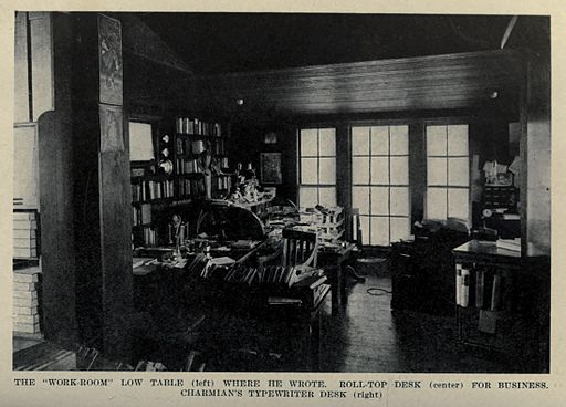 Jack London's Work-Room