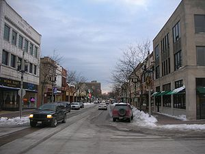 English: Downtown Kenosha, Wisconsin, USA