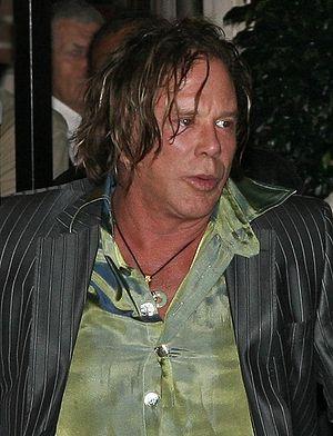 Mickey Rourke at the 2008 Toronto Internationa...