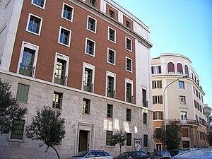 Opus Dei central headquarters in Rome