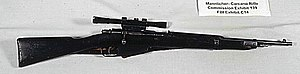 Rifle of Lee Harvey Oswald, the assassin of Pr...