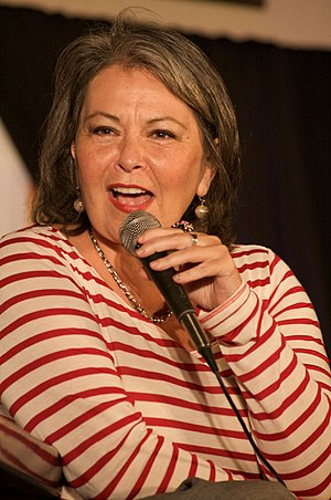 English: Roseanne Barr at the Hard Rock Cafe i...