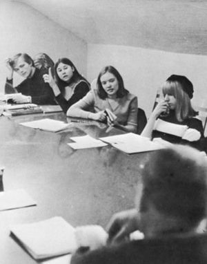 English: Photograph of Shimer College class ci...