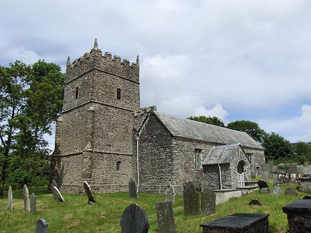 St Petrock's Church, Parracombe, Devon, seen from the southwest