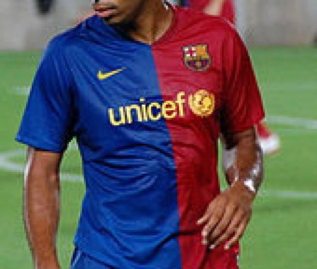 Henry At Barcelona In