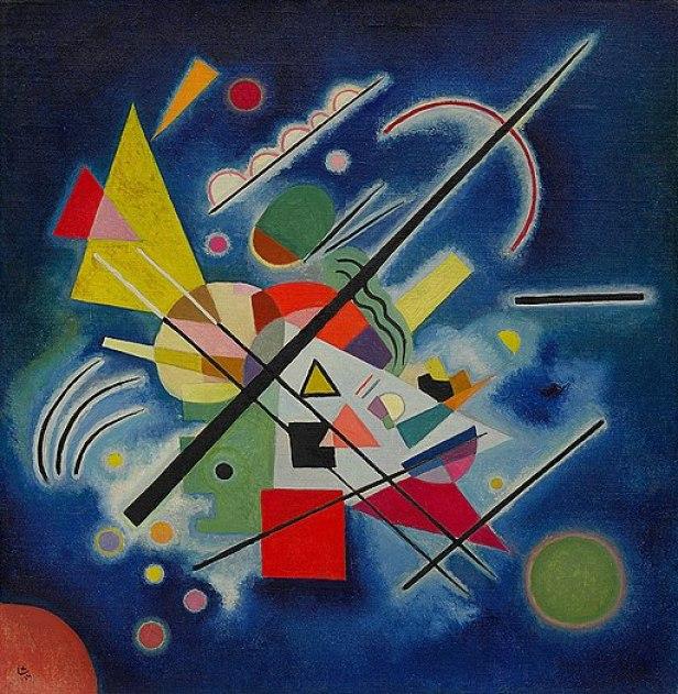 Vassily Kandinsky, 1924 -Blue Painting