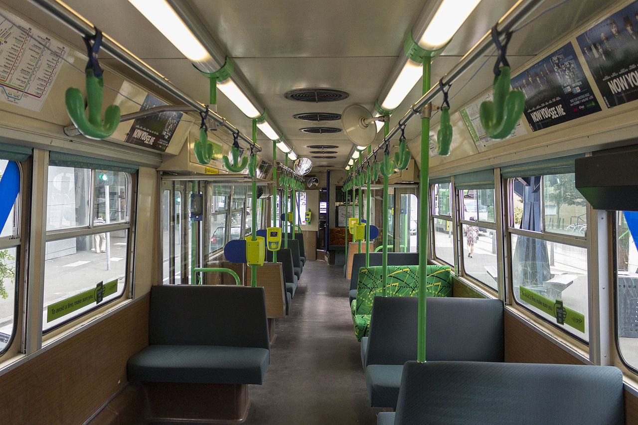 FileZ1class Melbourne tram interior 2013JPG