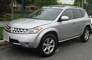 2003-2007 Nissan Murano photographed in Colleg...