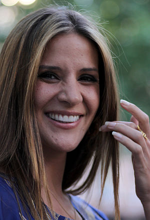 English: Amanda Byram in July 2010.
