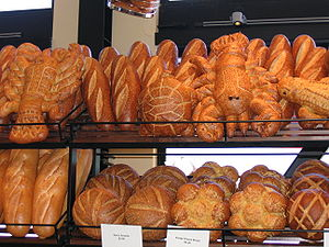 This is a photograph of some Boudin Bakery sou...