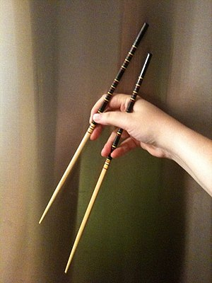 English: Chopsticks for cooking