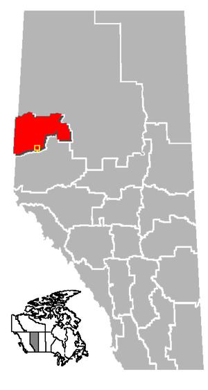 Grande Prairie, Alberta Location