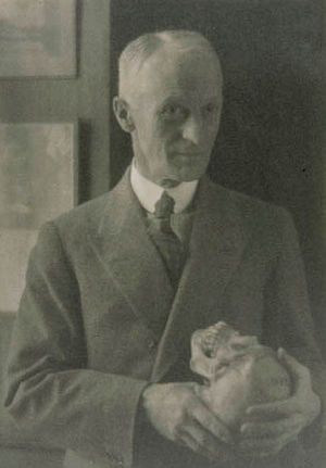 Portrait of Harvey Cushing by Doris Ullman, 1920s