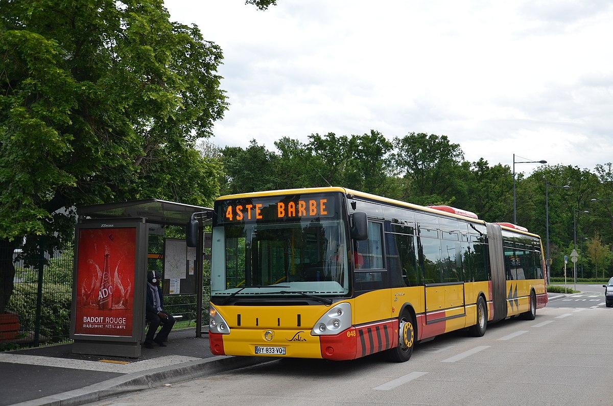 Bus  haut niveau de service de Mulhouse  Wikipdia