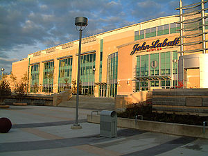 The John Labatt Centre.