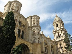 Cathedral of Málaga.
