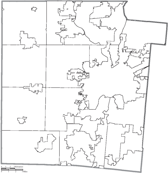 File:Map of Montgomery County, Ohio No Text