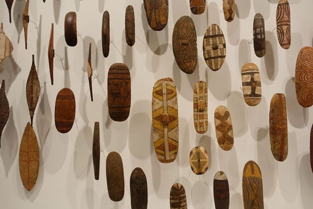 Aboriginal Shields - National Gallery of Victoria - NGV - Joy of Museums