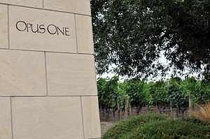 English: Napa Valley Opus One If used outside ...