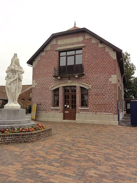 Fichier:Ruesnes (Nord, Fr) mairie.JPG