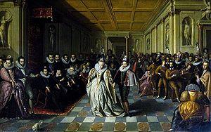 Wedding ball of the Duke of Joyeuse and Margue...