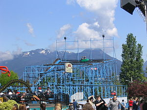 Picture of the Wild Mouse at Playland