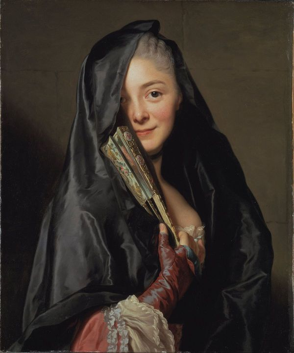 Alexander Roslin Woman with a Veil