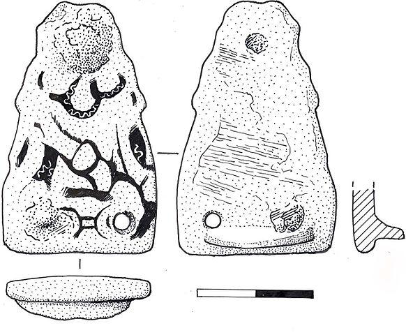 File:Anglo-Saxon stirrup mount (drawing) (FindID 240447