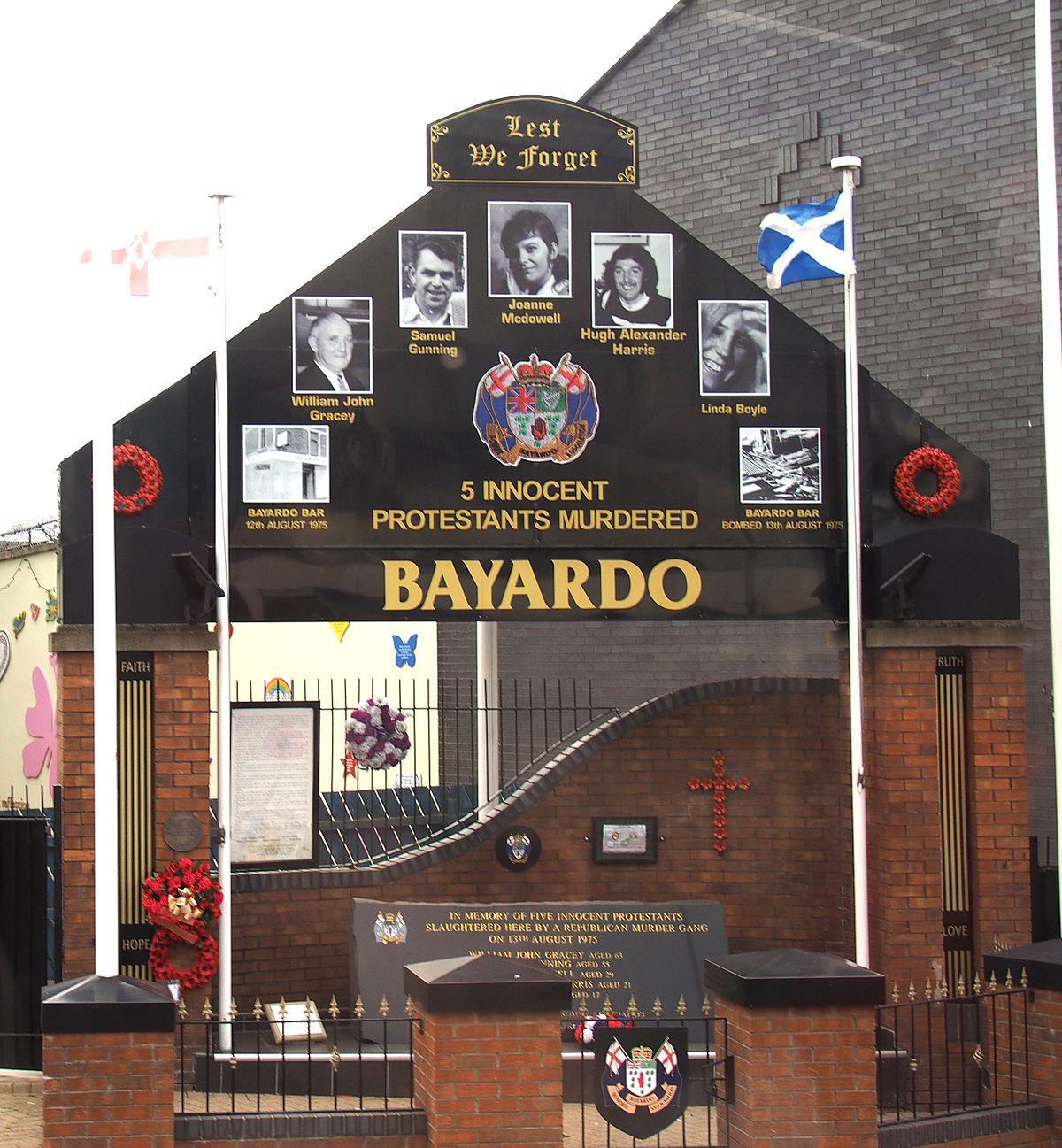 Bayardo Bar attack  Wikipedia