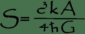English: Black Hole Entropy equation