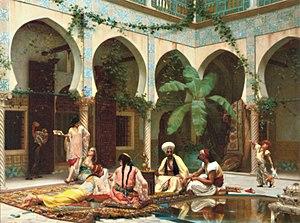 English: Le harem du palais
