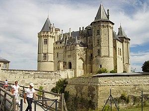Château de Saumur, Frankreich